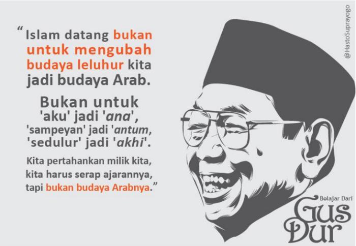 Islam Datang Bukan Untuk Arabisasi Indonesia