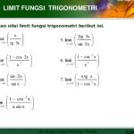 Rumus The King Limit Fungsi Trigonometri